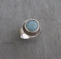 Amazonite Collection Ring