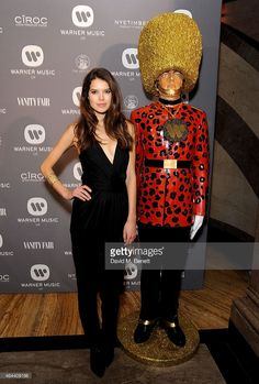 Sarah Ann Macklin attends The Warner Music Brit Party 2015 at Freemasons Hall on February 25, 2015 in London, England.