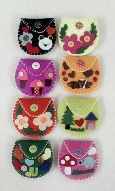 Felt wallet - I made this wallet for my friends. Simp… - men& watch - Felt wallet – I made this wallet for my friends. Kids Crafts, Felt Crafts, Diy And Crafts, Jar Crafts, Felt Wallet, Felt Purse, Felt Keyring, Cat Keychain, Felt Patterns
