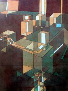 Astratto n. 23  - Klee Paul (1879-1940) - STAMPA SU TELA € 18,26