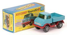 Matchbox Superfast MB49-b Mercedes Unimog