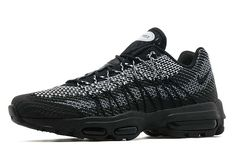 buy online 7608b bcace The Nike Air Max 95 Ultra Jacquard Black has arrived internationally.
