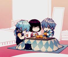 Sly Blue, Sei & Aoba - DRAMAtical Murder