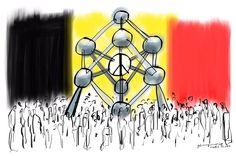 gabi campanario - Je Suis Bruxelles