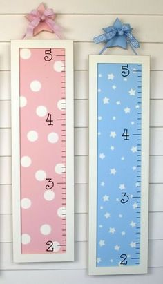 Wooden Growth Charts  so easy to make guys!:)