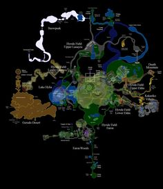 42 x 24 huge hyrule zelda ocarina of time world map poster image result for legend of zelda twilight princess world map gumiabroncs