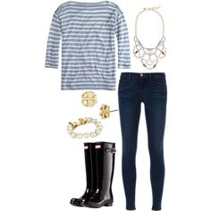 """""""Baby blue"""" by the-southern-prep on Polyvore"""