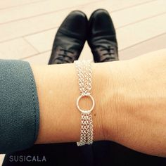 Sunday mood! 'Storm' bracelet. #GirlBestFriend #NewCollection #MustHave #LovingSundays #SterlingSilver