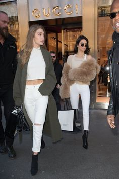 Kendall Jenner and Gigi Hadid Are Wearing the Jeans You Fear Most