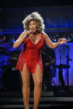 Tina Turner....you wish you could look this good when you're 70 years old.