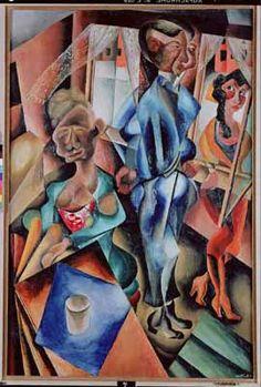 """""""De verleiding (The Temptation)"""", 1921 / Carel Willink (Dutch Modern Art, Contemporary Art, Z Arts, Dutch Painters, Dutch Artists, Old Art, Portrait Art, Figurative Art, Sculpture Art"""