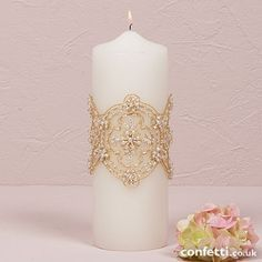 Beverly Clark The Luxe Collection Unity Candle