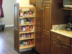 Portrayal of Decorate IKEA Pull Out Pantry in Your Kitchen and Say Goodbye to Your Stuffy Kitchen!
