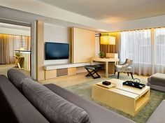 Comfort is of paramount importance at The Upper House, Hong Kong