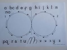"""dianne craft eights   Dianne Craft Daily Exercises Helps with dyslexia by reinforcing which side of the stick the bubble is written for the """"d"""" and """"b"""".  According to her website it help the child transition from right brain to left brain more smoothly."""