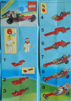Lego 6526 Red Line Racer (recenzja) Lego Duplo, Lego Robot, Vintage Lego, Lego Plan, Legos, Easy Lego Creations, Lego Hacks, Lego Words, Modele Lego