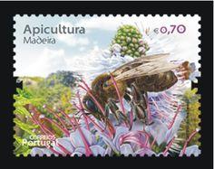 Honey Hill: Filatelia Apicultura en Portugal