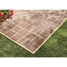 Beau Patio Pal Quick Brick Patio System From Through The Country Door®