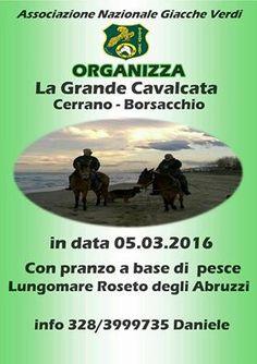 """Pineto. Arriva """"La Grande Cavalcata Cerrano-Borsacchio"""": passeggiata ecologica a cavallo e in bici"""