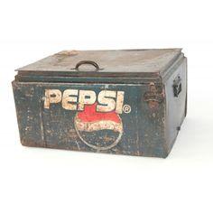 Vintage Pepsi Cola Box