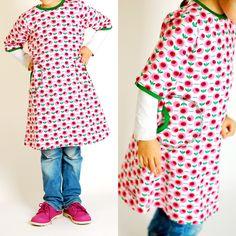 Zur Abwechslung mal ein Tunika-Kleid | lillesol & pelle Schnittmuster, Ebooks, Nähen