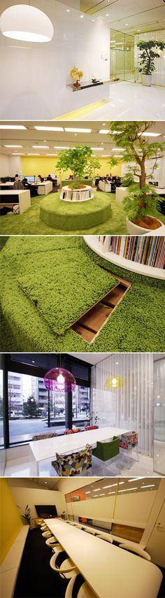 パークをマグネットエリアとした一体感 | works | オフィスデザイン ヴィス|デザイナーズオフィス、事務所レイアウト