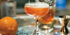 Classic Cocktail: The Seelbach, Louisville's pre-Prohibition cocktail. (Photo Credit: Andrew Hyslop)