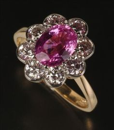 Pink sapphire (American terminology, may be classified as ruby outside of the United States)