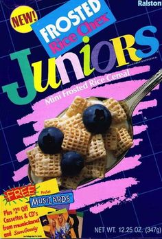 Frosted Rice Chex Juniors