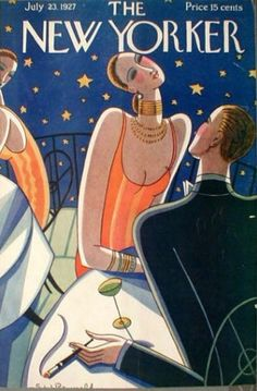 Art Deco The New Yorker Magazine Cover