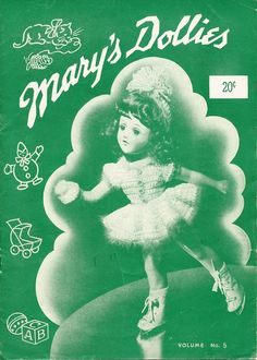 Mary Hoyer Doll Clothes Pattern Book Mary's Dollies Vol. 5 Vintage 1941