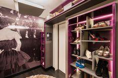 O closet do Quarto da Jovem por Monica Sanches!!