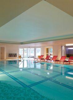 Spa pool at the Aalernhüs Hotel & Spa. #StPeterOrding #Spa