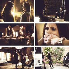 Elena's first time seeing Katherine