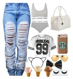 """99 issues but you ain't one✌️"" by mina-smith1 on Polyvore"