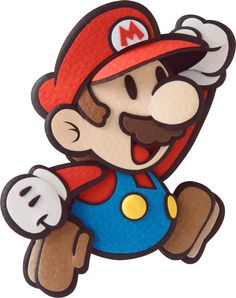 Rendered artwork of characters, enemies, scenes and stickers from Paper Mario Sticker star on the Nintendo Super Mario Party, Super Mario Bros, Super Mario Kunst, Super Mario Brothers, Mario Und Luigi, Mario Bros., Mario Kart, Paper Mario Sticker Star, Capas Samsung