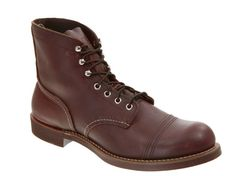 Red Wing Iron Ranger Boots...need a pair!