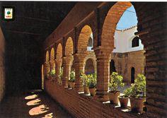 Postales de Huelva: Monasterio de La Rábida. Cristóbal Colón se alojó en el convento dos años antes de su famoso primer viaje