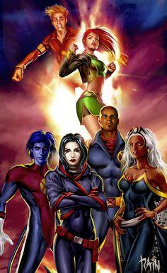 X-Men by Rain Beredo