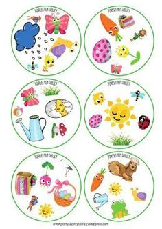 Spring is here! Printable Activities For Kids, Alphabet Activities, Infant Activities, Teach English To Kids, Teaching English, Skills To Learn, Play To Learn, Kindergarten Portfolio, Nursery School