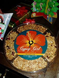Gypsy Girl Granola Package Design - logo design and packaging by Sara Nelson Design
