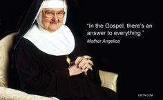 #MondayMotivation #Lent2015 #MotherAngelica #EWTN