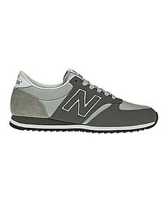 Grey on grey with the New Balance 420 Classics sneak.