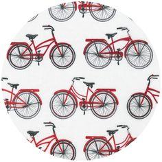 cute bike fabric