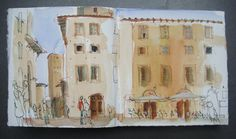 Sketchbook Italy . Felicity House