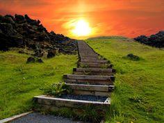 Lieux surréalistes à visiter avant de mourir : « Chemin vers le paradis », Islande
