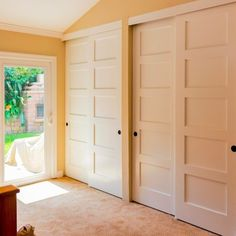 Louvered Sliding Doors For Closets
