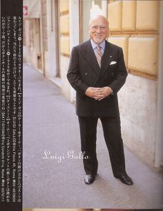 Sartoria Gallo Luigi Gallo Man's ex magazine
