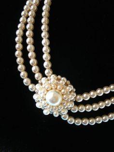 Chanel Pearls of Wisdom Chanel Jewelry, Pearl Jewelry, Jewelry Necklaces, Fashion Jewelry, Bracelets, Chanel Pearls, Pearl Rings, Chanel Necklace, Pearl Necklaces