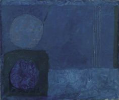 Blue November Painting: 1963 by Patrick Heron. Abstract Painters, Abstract Art, Meaningful Paintings, Patrick Heron, Art Uk, Fantastic Art, Your Paintings, Painting Inspiration, Illustration Art